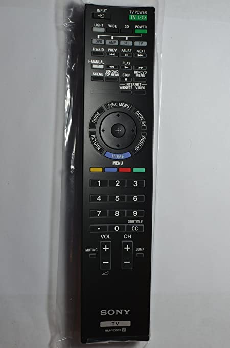 Original Sony Bravia LCD LED Smart TV Remote Control RM-YD067 Supplied with  models: XBR-55HX920 XBR-65HX920