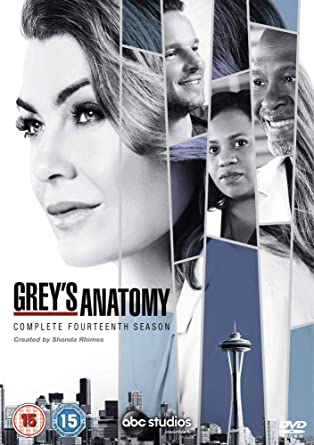 Greys Anatomy Season 14 Dvd 2018 Amazon Dvd Blu Ray