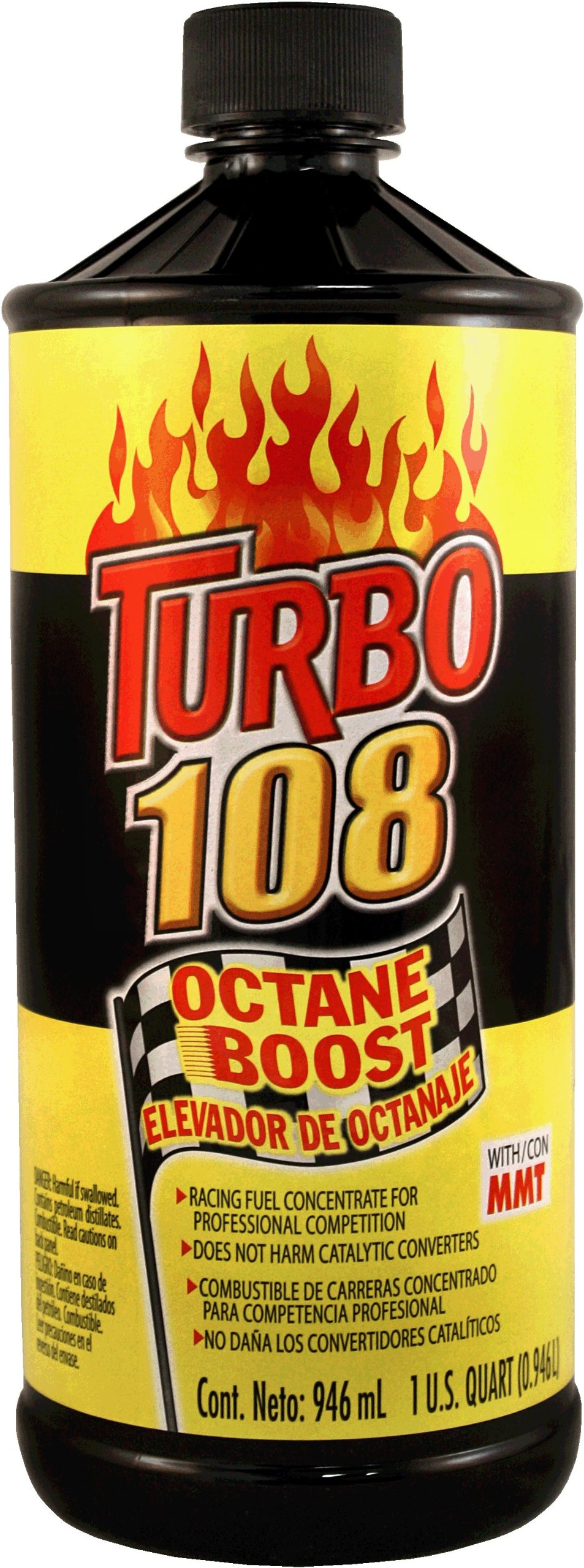 Blue Magic NA31-12PK Turbo 108 Octane Boost - 32 fl. oz., (Pack of 12) by Blue Magic