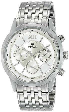 173d1c88ac7 Buy Titan Neo Analog Champagne Dial Men s Watch - 1766SM01 Online at ...