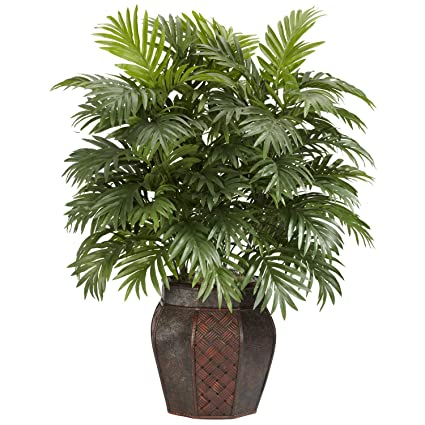 Buy Nearly Natural 6651 Areca Palm With Vase Decorative Silk Plant