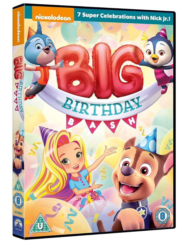 Peachy Amazon Com Nick Jr Big Birthday Bash Dvd 2019 Movies Tv Funny Birthday Cards Online Alyptdamsfinfo