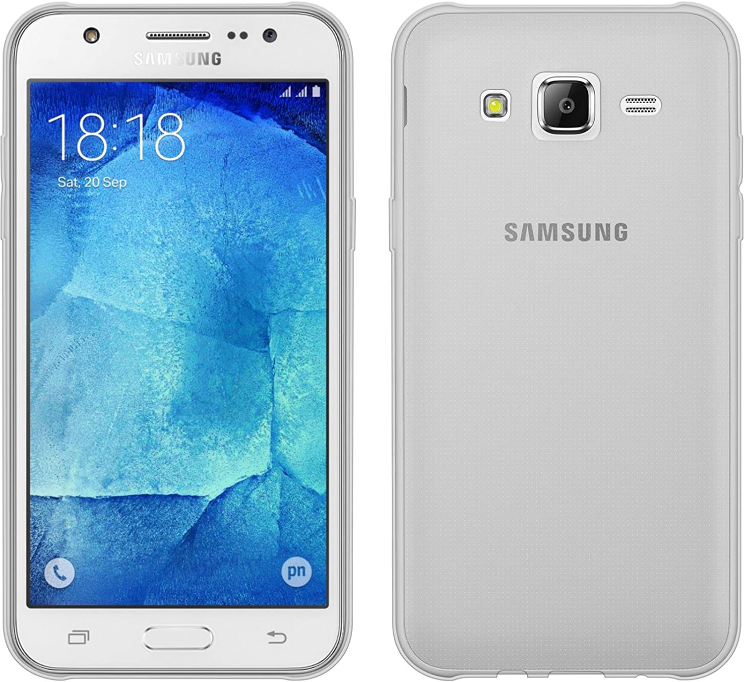 PhoneNatic Funda de Silicona Compatible con Samsung Galaxy J5 ...