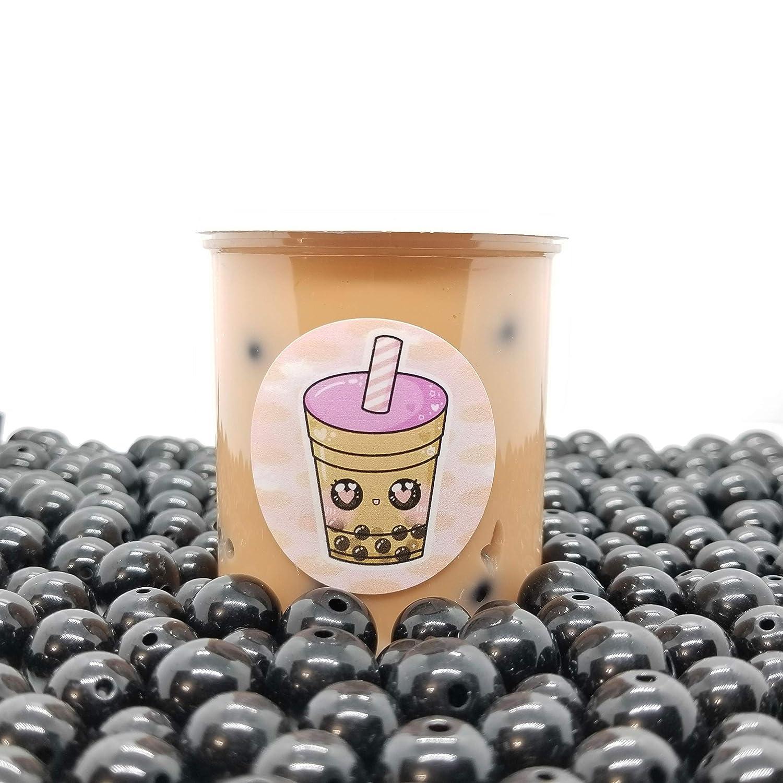 Milk Boba Tea Glossy Handmade Scented Slime-Hoshimi Slimes Instagram Slime Shop