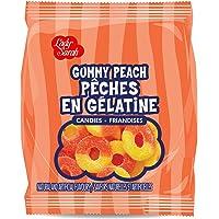 Lady Sarah Gummy Peach Rings 120G Per Bag