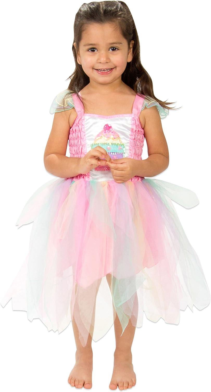 Lucy Locket - Disfraz de Hada Cupcake para niña (5-6 años ...