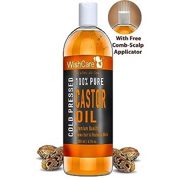 Amazon.com: Wishcare Premium - Aceite de ricino prensado en ...