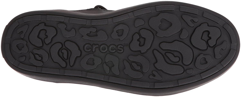 Crocs Women's Lodge Point Lace Snow Boot B01A6LNBKS 9 M US|Leopard/Black