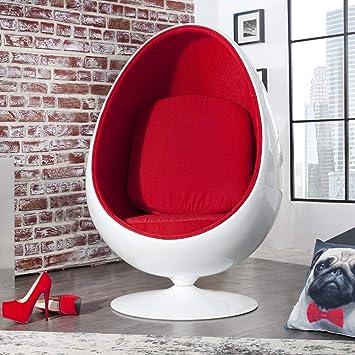 Design BallBlanc Salonegg Cagu De Rétro Fauteuil Pour O0wPkn