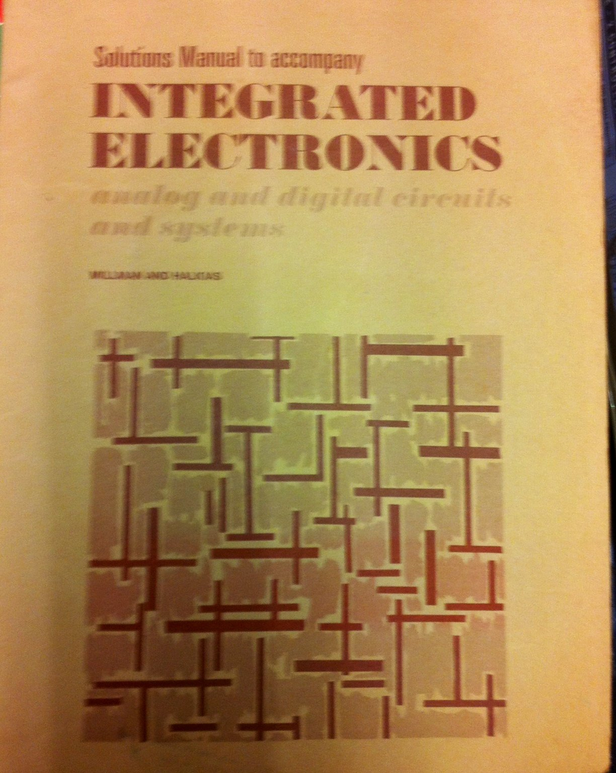 amazon in buy integrated circuits solutions manual analog digital rh amazon in Milliman India millman halkias integrated electronics solution manual