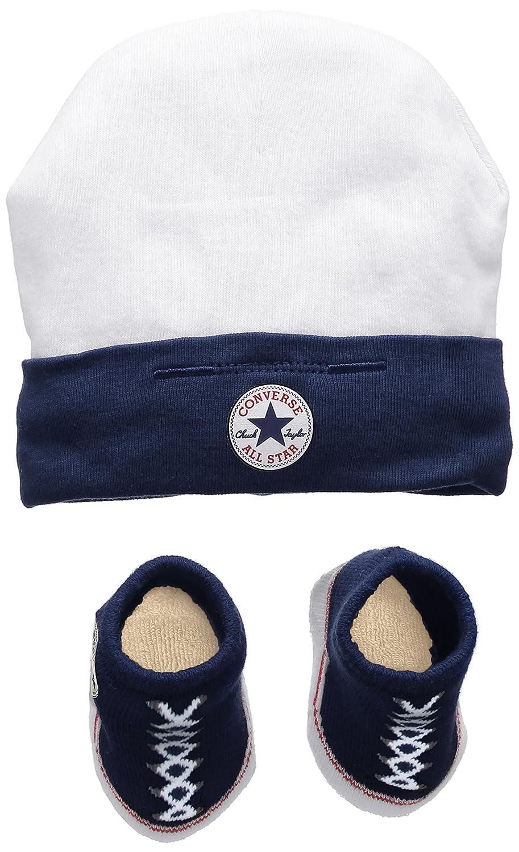 Infants Boys Converse Hat//Socks Navy//White