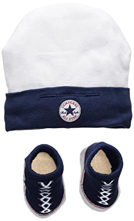 Converse Baby Boys 0-24m Hat And Bootie Clothing Set 6fe4ecffa13
