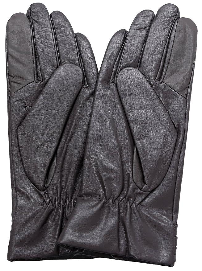 Ambesi Women's Fleece Lined Nappa Leather Winter Gloves