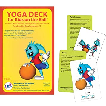 Amazon.com: Yoga Deck for Kids on The Ball: Health ...