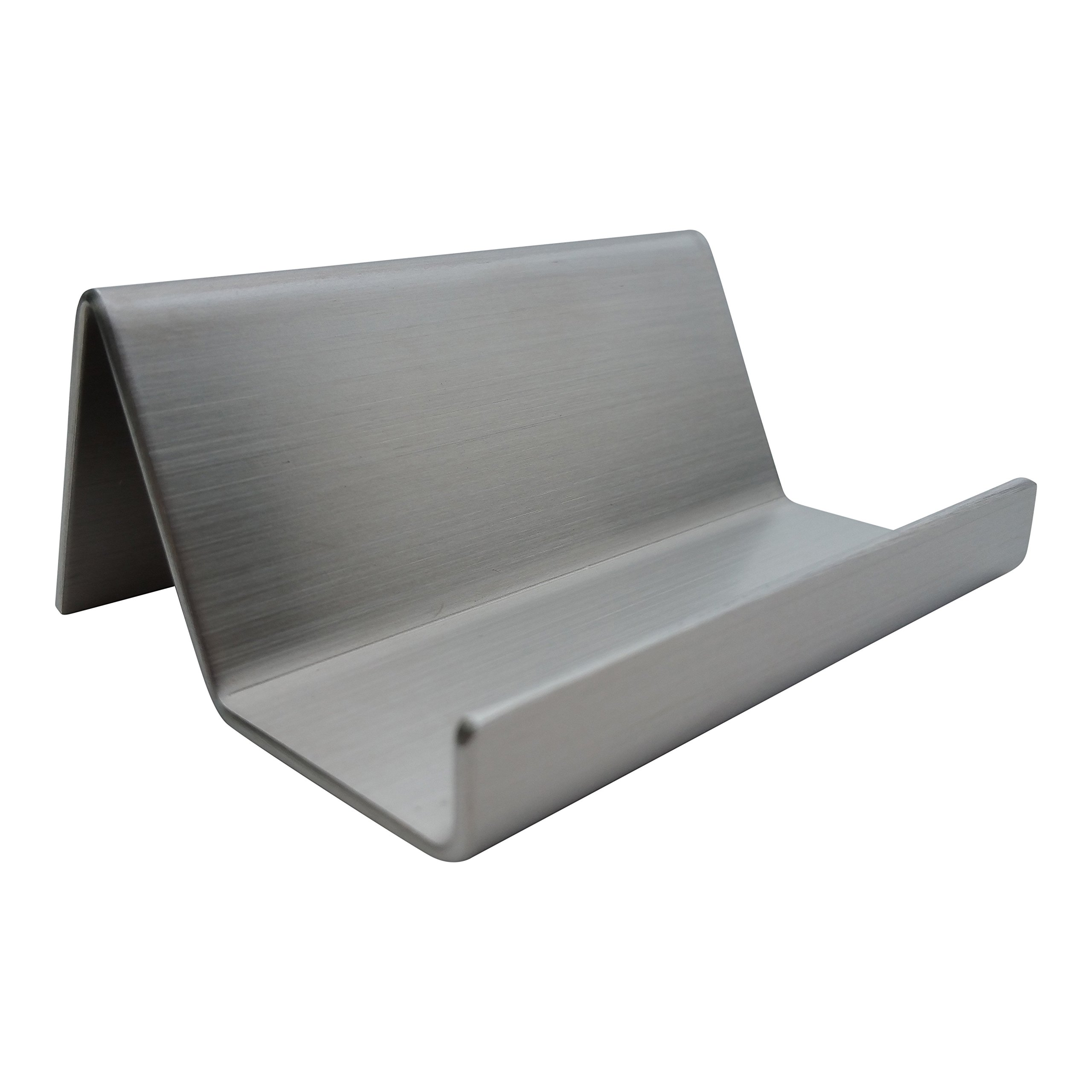 81sytft1iglg business card holder desk display with brushed stainless steel finish by pensoek magicingreecefo Choice Image