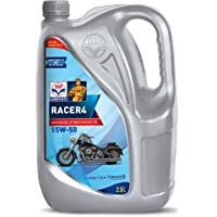 HP Lubricants Racer4 15W-50 API SL Engine Oil for Bikes (2.5 L)