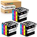 Palmtree Compatible Ink Cartridges Replacement for Brother LC-61 LC-65 for Brother MFC-495CW MFC-490CW MFC-6490CW MFC…