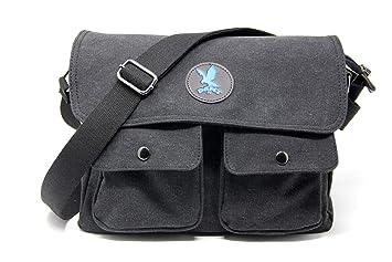 f950f5904fb16 DAMT-fit Schultertasche (blau) Umhängetasche Herren Arbeitstaschen für  Herren Damen Schultasche Messenger Bag