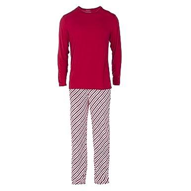 e2be307369 Kickee Pants Men s Holiday Long Sleeve Pajama Set at Amazon Men s ...
