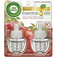 Air Wick Plug In Scented Oil , Apple Cinnamon Medley, 2 Refills, air freshener