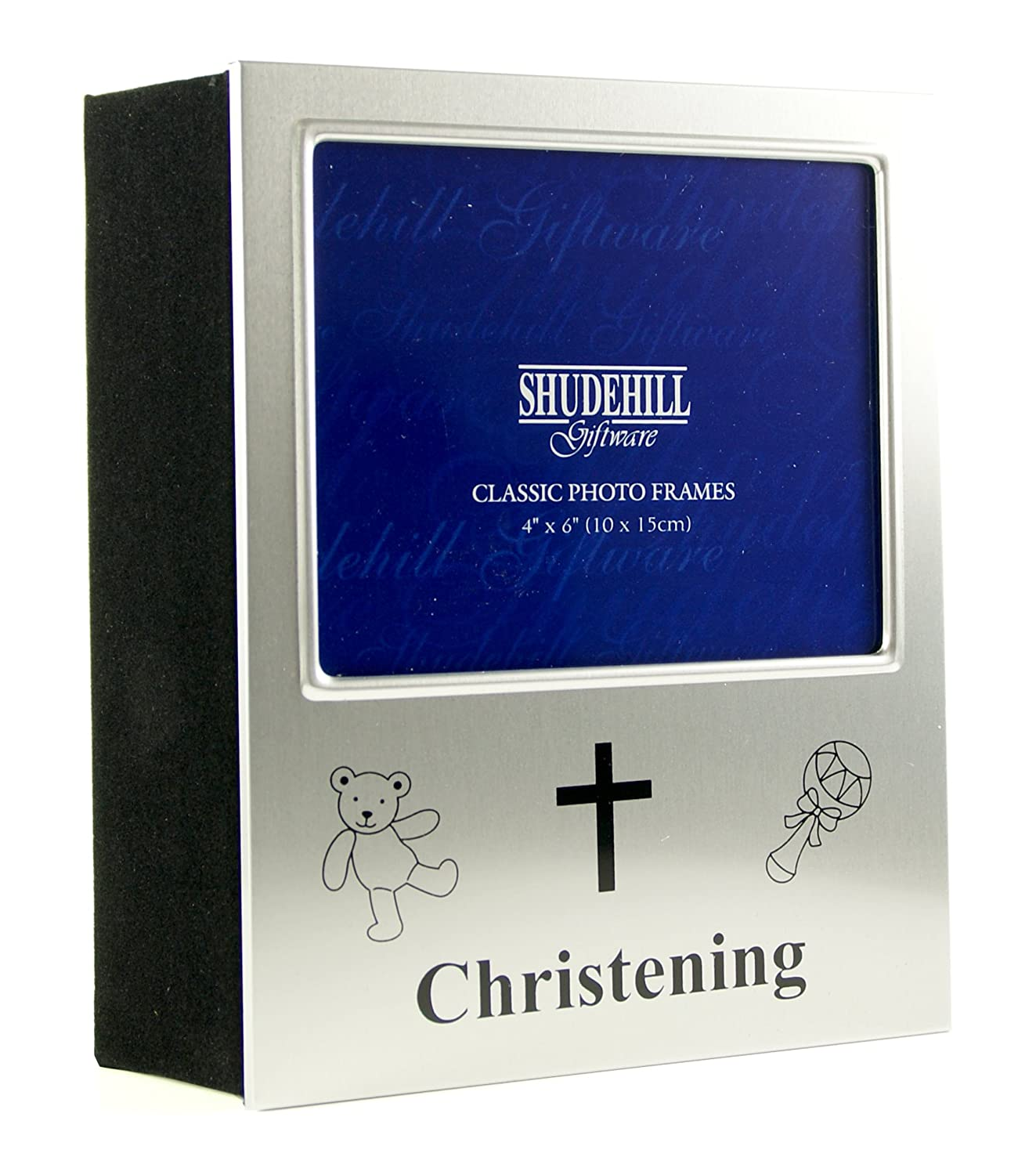 Deluxe Christening Photo Album Gift - Space for Photo on Front HOLDS 72 Photos 40112 Shudehill 56577873479