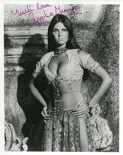Caroline Munro James Bond 007 Autograph Signed Photo At