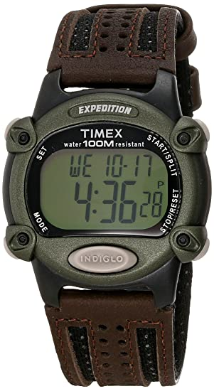 711f6c754aa0 Timex Expedition Reloj digital clásico con cronómetro y alarma ...