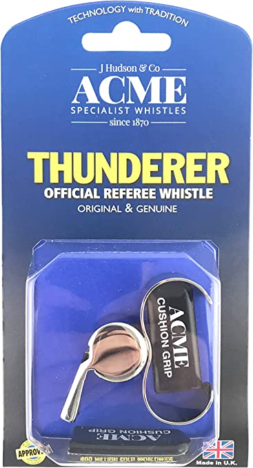 ACME Thunderer 60.5 Metal Official Referee Whistle by Acme Made