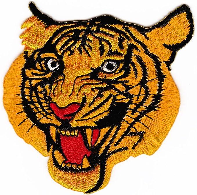 Tiger parche plancha de: Amazon.es: Coche y moto