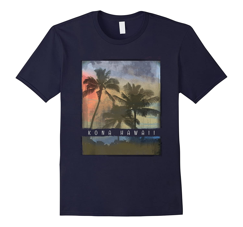 Kona T Shirt Hawaii Retro Apparel Sunset Kids Adults Teens-T-Shirt