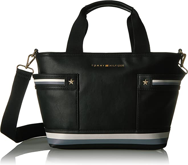 c828359e4cb Tommy Hilfiger Purse for Women Larissa, Black: Handbags: Amazon.com