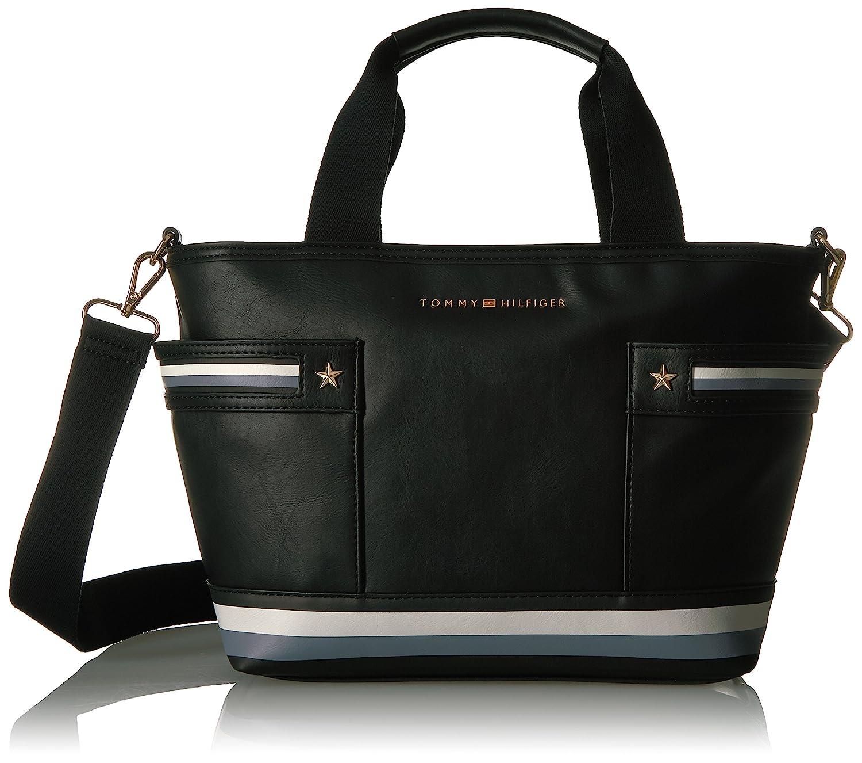 2d261f0283 Tommy Hilfiger Women's Handbag (Black, 6938651-990): Amazon.in: Shoes &  Handbags