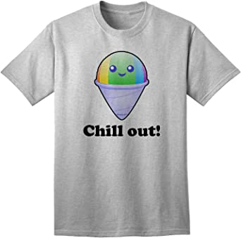 TooLoud Cute Shaved Ice Ice Cold Infant T-Shirt Dark