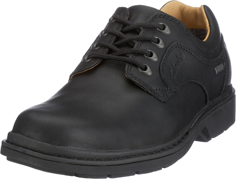 Clarks Rockie Lo GTX, Zapatos con Cordones. Hombre
