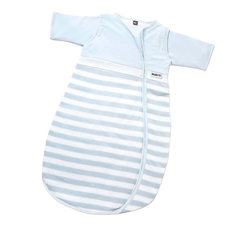 Gesslein 773138 Schlafsack, Größe   110, hellblau Streifen