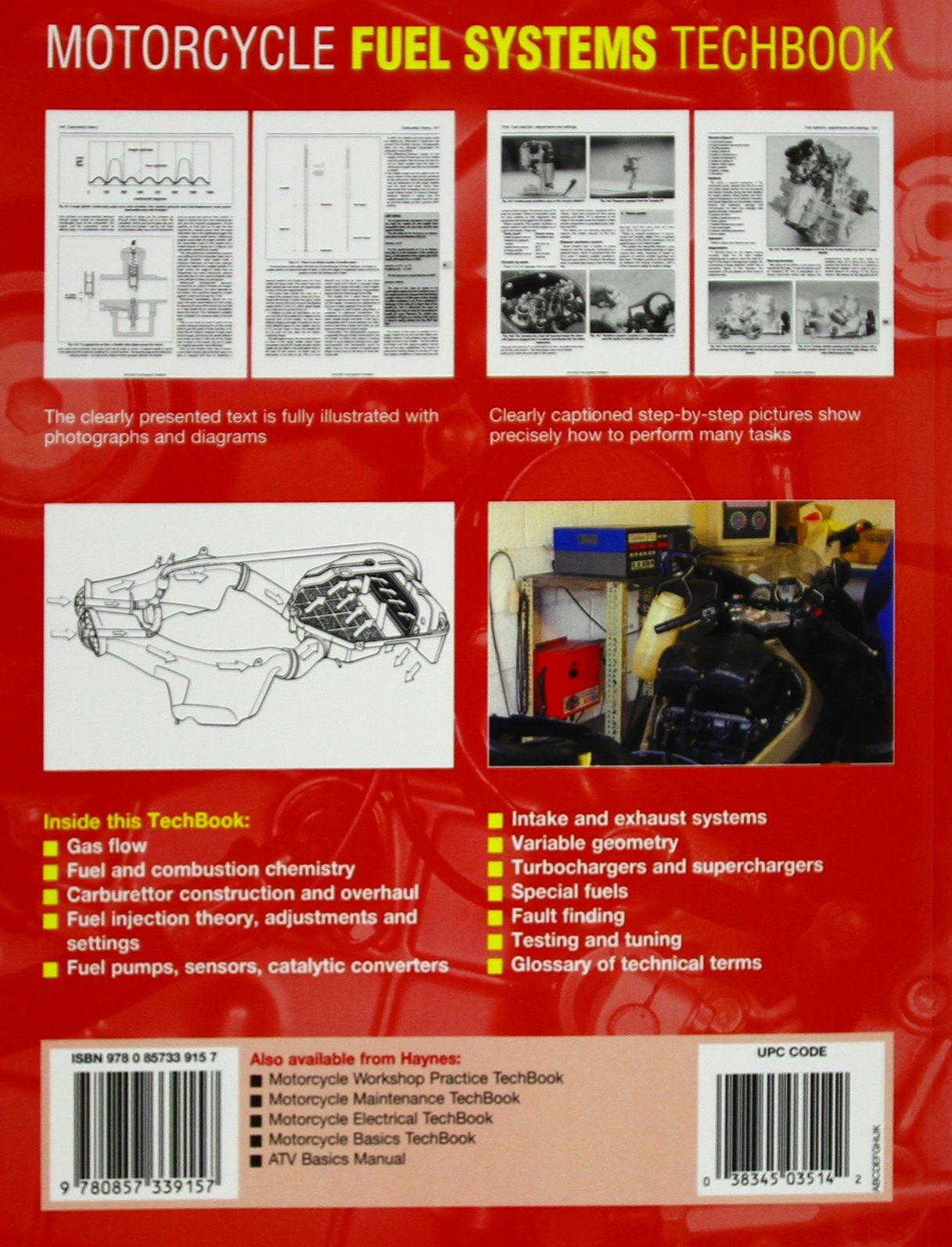 Motorcycle Fuel Systems Haynes Techbook Anon Cz Motorcycles Engine Diagram 9780857339157 Books