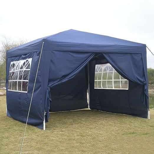 2 opinioni per OUTCAMER Gazebo 3*3M Tenda Padiglione Pieghevoli Impermeabile con Pannelli
