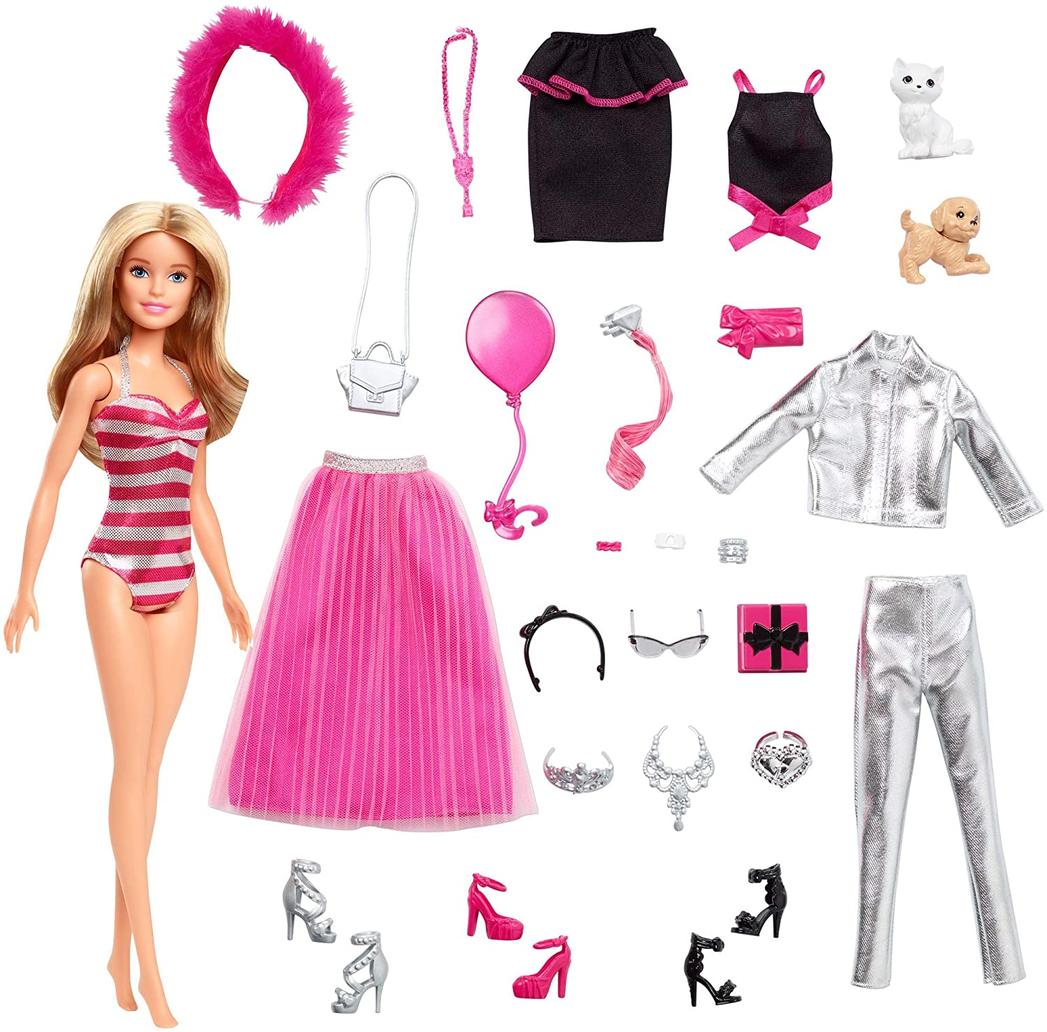 Inhalt Barbie Adventskalender 2019