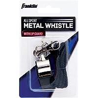 Franklin Sports - Silbato de Metal para Todos los Deportes con Protector de Labios
