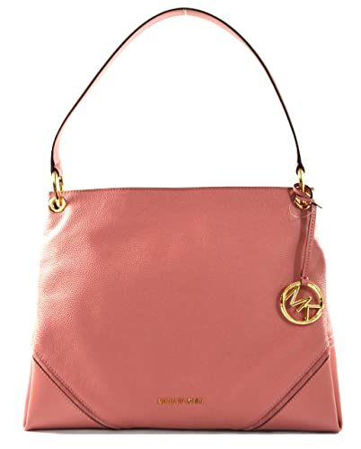 Michael Kors Nicole Grand sac à main en cuir Rose: