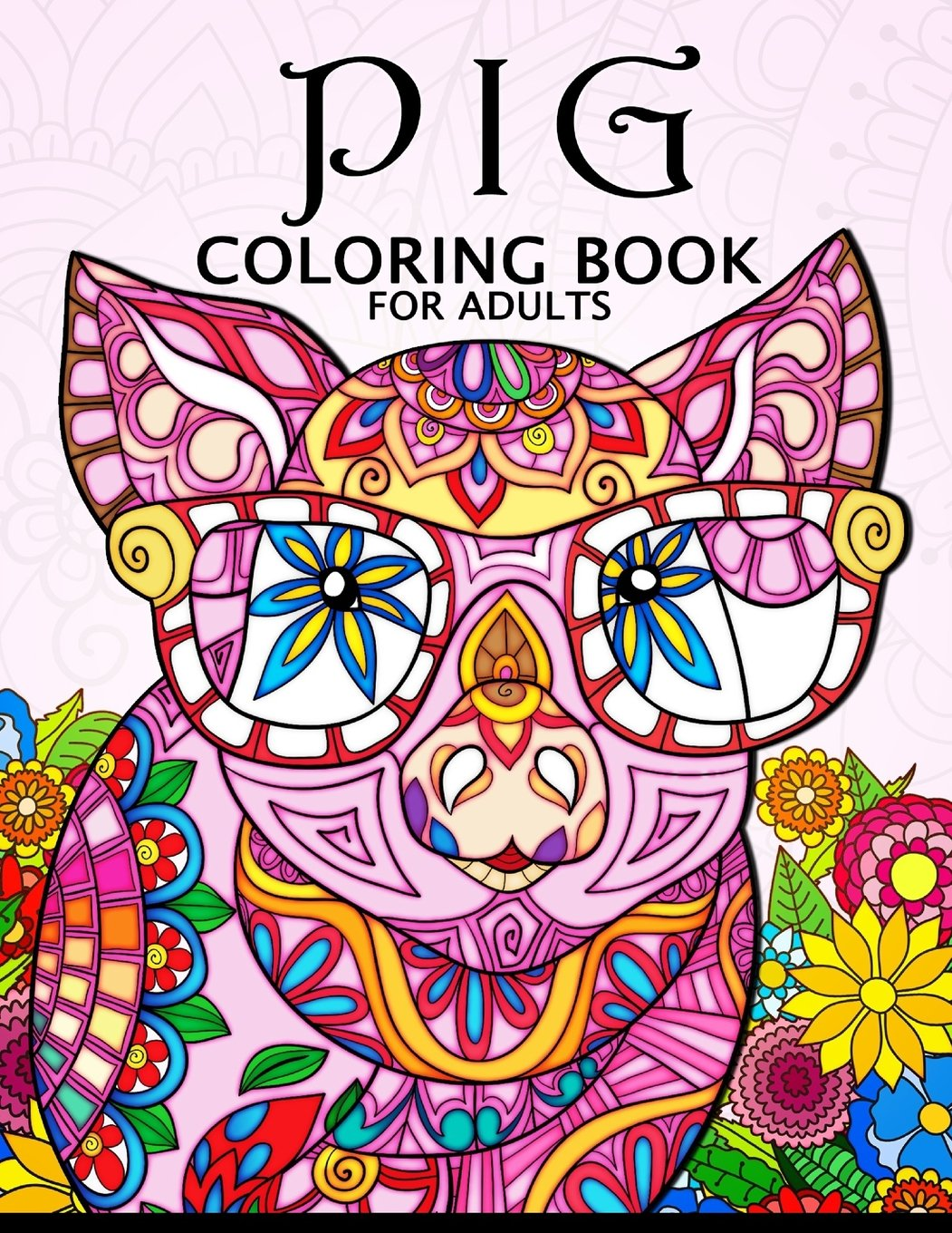 - Amazon.com: Pig Coloring Book For Adults: Cute Animal Stress