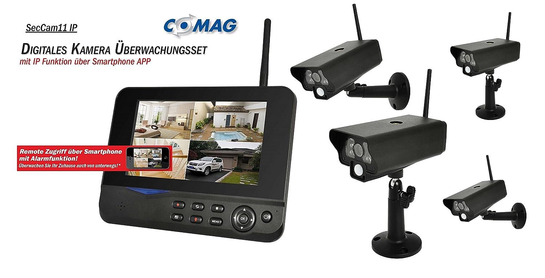 COMAG Digitales Kamera Funk-Überwachungs-Set Überwachungskamera ...
