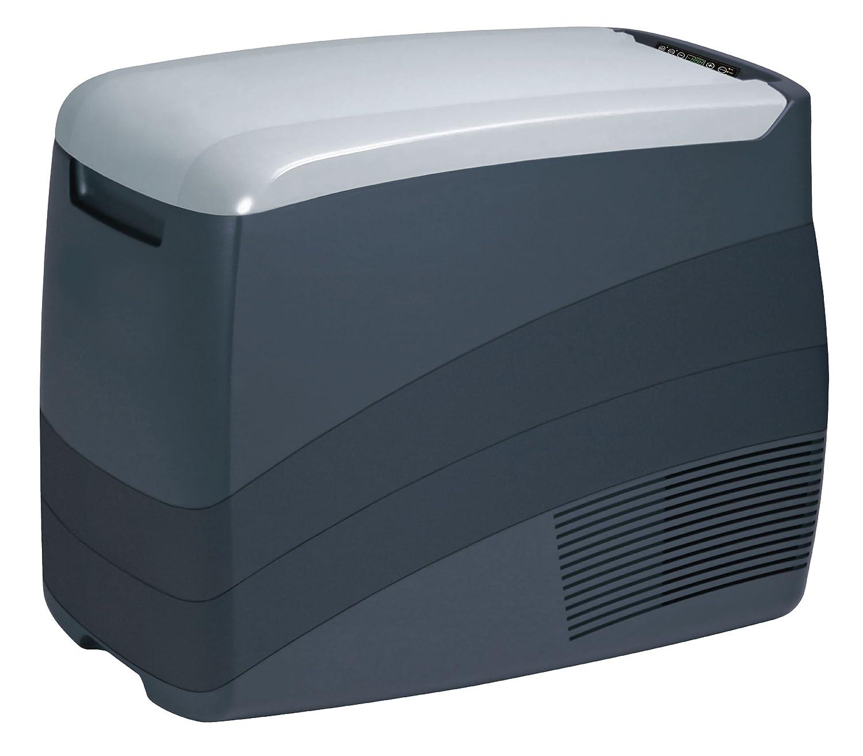 100 240 V EZetil Kompressorkuehlbox EZC 45 12//24 V 58 x 36 x 46 cm anthrazit//hellgrau