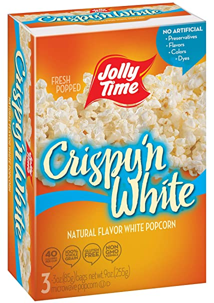 Jolly Time Crispy n White – Cajas de palomitas de ...