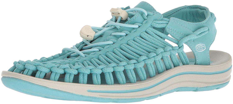 KEEN Women's Uneek-W Sandal B06ZZ2ZM79 9.5 B(M) US|Aqua Sea/Pastel Turquoise