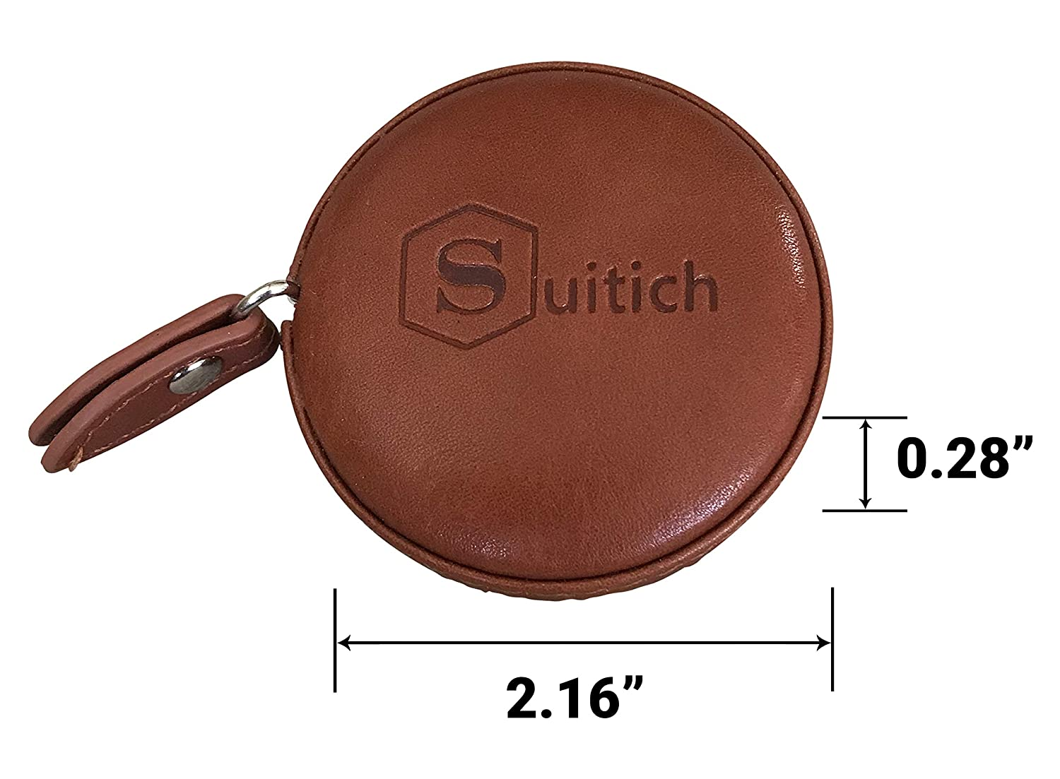 Diet Professional Leather Tape Measure for Tailors Sewing Medical and More! Body