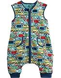 Vaenait Baby 80-110 Kleinkinder Maedchen 100% Baumwolle Schlafsaecke Decke Sleep Travel