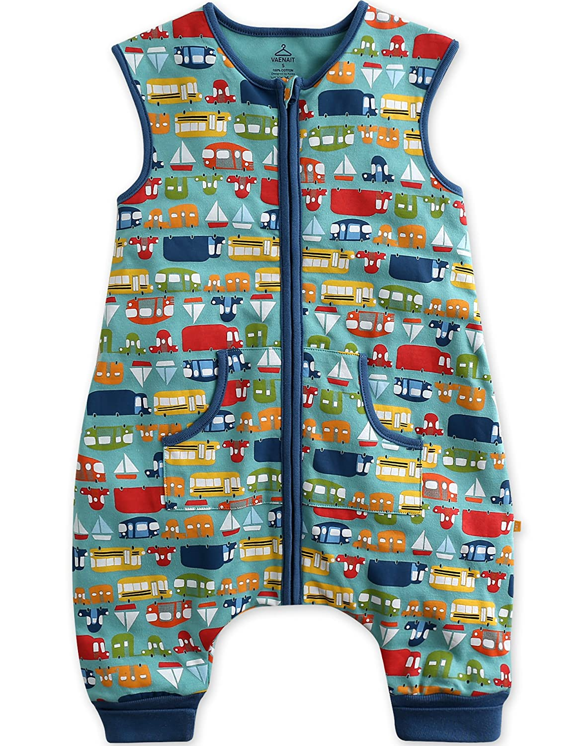 Vaenait baby 1-7Y Kid Double Layered Cotton Boys Wearable Blanket Sleeper Collection SS_075a