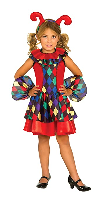 Rubie's Costume Jester Dress Deluxe Child Costume, Small