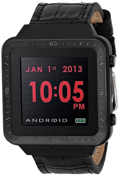 Amazon.com: Android Unisex ad721bk SmartWatch GTS Digital ...